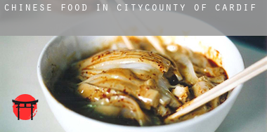 Chinese food in  City and of Cardiff