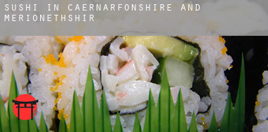 Sushi in  Caernarfonshire and Merionethshire