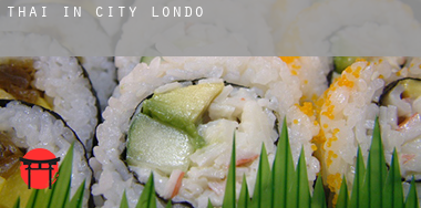 Thai in  City of London