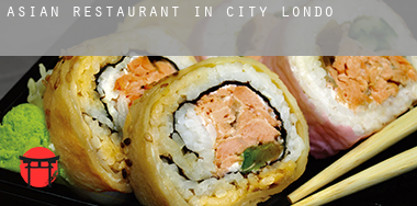 Asian restaurant in  City of London